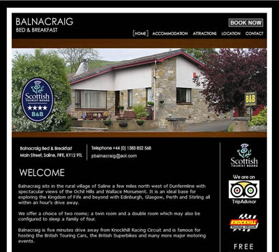 Balnacraig Bed and Breakfast, Saline, Fife